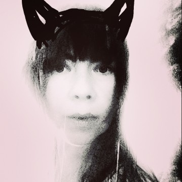 CAT PERSON PINK