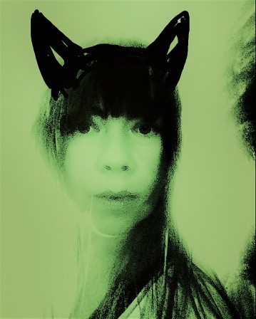 CAT PERSON GREEN